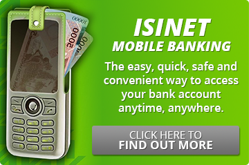 IsiNet + Mobile Banking